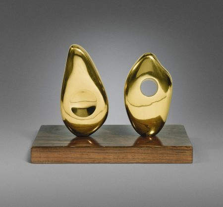 Barbara Hepworth-Two Forms (Orkney)-1967