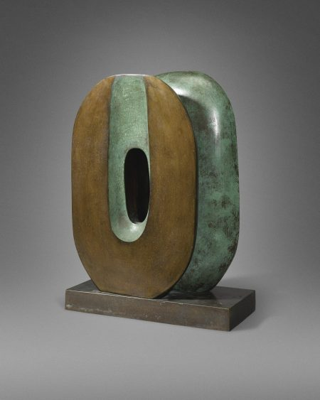 Barbara Hepworth-Maquette For Dual Form-1965