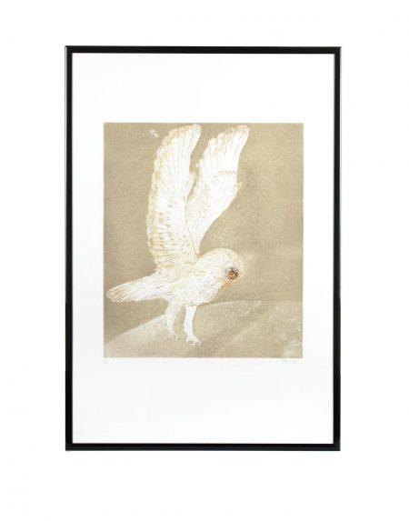 Elisabeth Frink-Six Owls (Wiseman 116-121)-1977