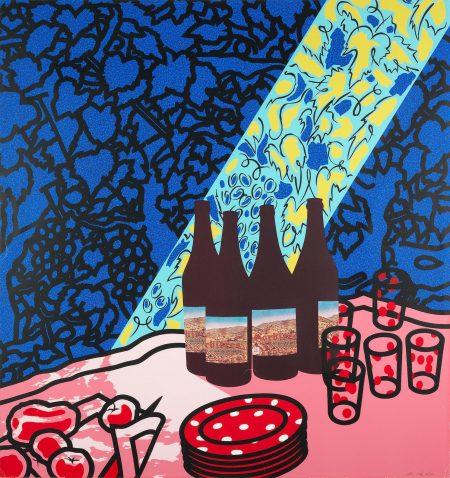 Patrick Caulfield-Picnic Set (Cristea 56)-1978