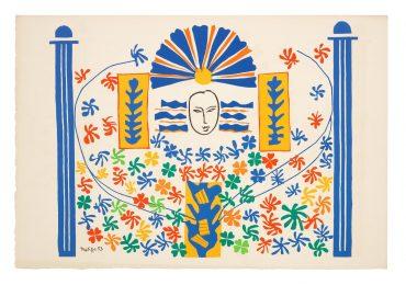 Henri Matisse-Apollon, From Verve Vol.IX, Nos.35-36-1958