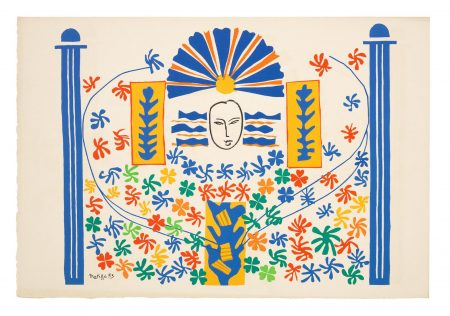 Henri Matisse-Apollon, From Verve Vol.IX, Nos.35-36-1958