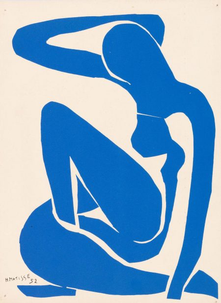 After Henri Matisse -  Five Blue Nudes, From Les Dernieres Oeuvres De Matisse 1950-54-1958