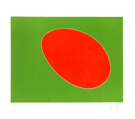 Joan Miro-One Plate, From Cantic Del Sol (Dupin 838)-1975