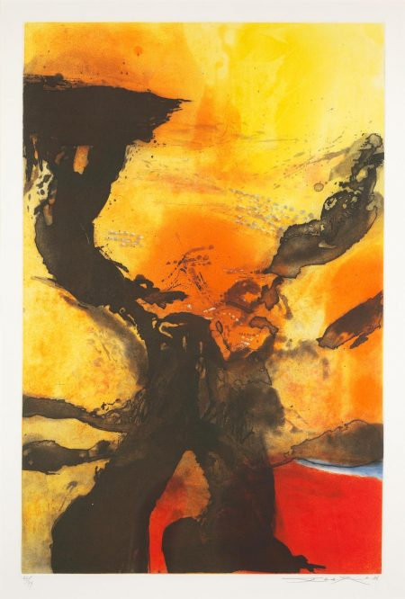 Zao Wou-Ki-Untitled (Agerup 329)-1986