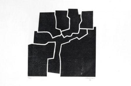Eduardo Chillida-Beltza V (Koelen 69008)-1969