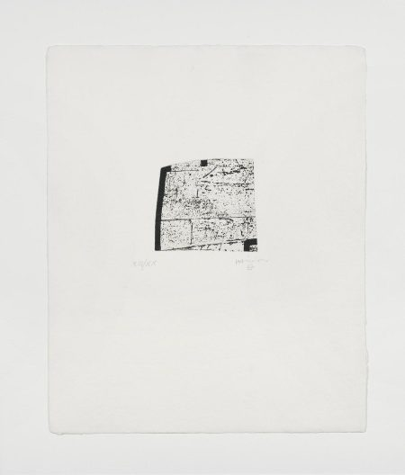 Eduardo Chillida-Plate VI, From Clara Janes: La Indetenible Quietud (Koelen 98011)-1998