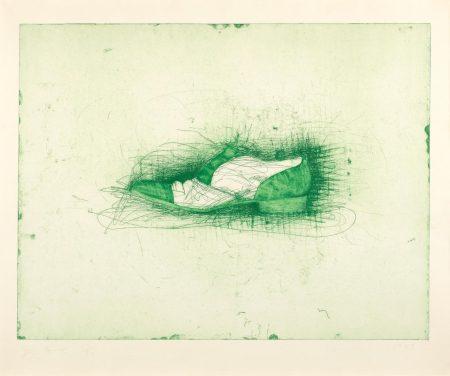 Jim Dine-Shoe (Harper 104)-1973