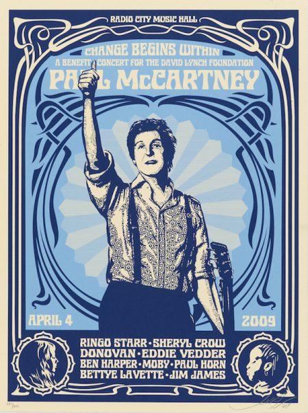 Paul McCartney (blue)-2009