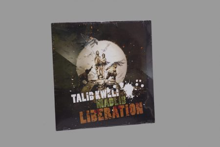 Banksy-Disque vinyle Talib Kweli + Madlib: Liberation-2007