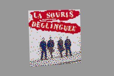 Invader-Disque vinyle La Souris Deglinguee-2014
