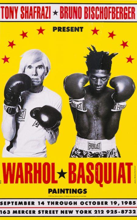 Andy Warhol & Jean-Michel Basquiat - Warhol - Basquiat Paintings-