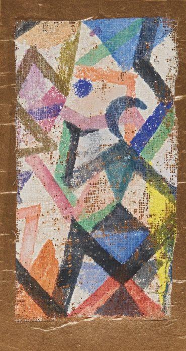 Paul Klee-Ohne Titel (Tanzerin Und Mondsichel) (Untitled. Dancer And Crescent Moon)-1918