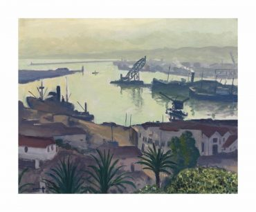 Albert Marquet-Larriere-Port De Lagha-1942