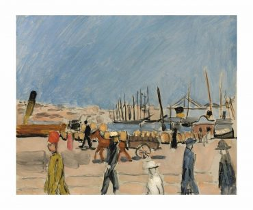 Henri Matisse-La Cheminee Du Roi, Marseille-1918
