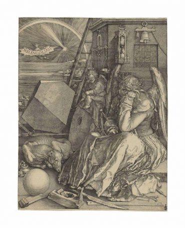 Albrecht Durer-Melencolia I-1514