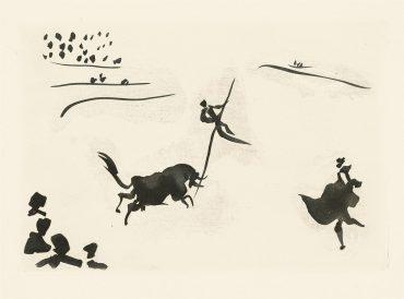 Pablo Picasso-Jose Delgado: La Tauromaquia-1959