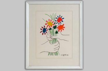 Pablo Picasso-Flower bouquet-1958