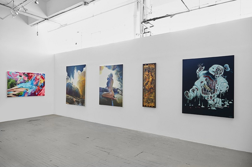 Installation view at Jonathan LeVine Projects