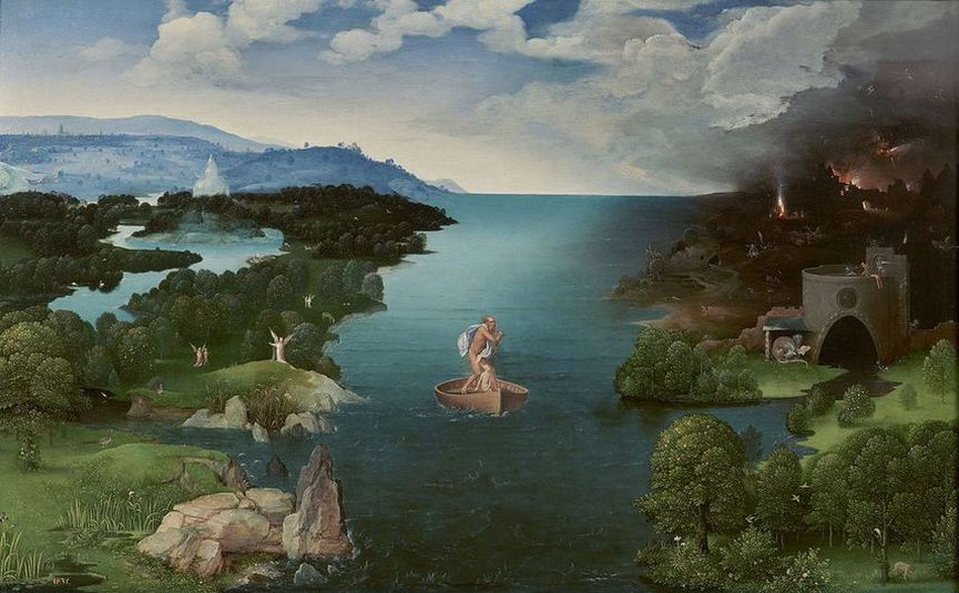 Joachim Patinir Landscape with Charon Crossing the Styx