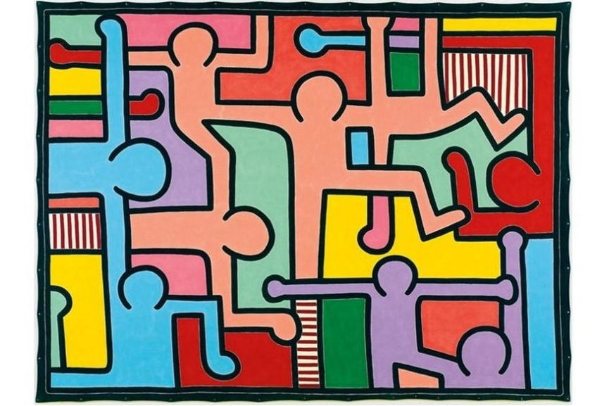 The List of the Most Expensive Keith Haring Artwork in Auction ...
