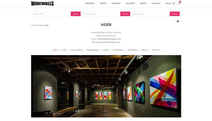 44309 gallery profile page