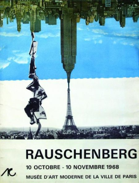 Robert Rauschenberg-Robert Rauschenberg - Museum of Modern Art of the City of Paris (Exhibition poster)-1968