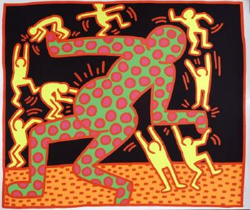 Keith Haring-Keith Haring - Fertility-1983