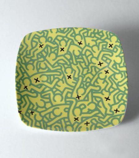 Keith Haring - Piatto-