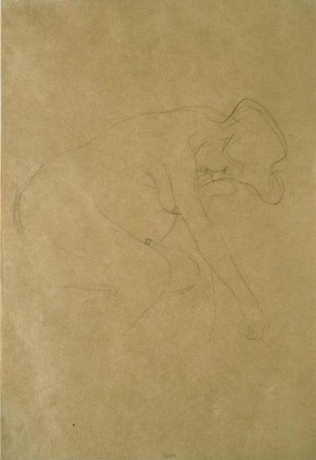 Gustav Klimt-Donna incinta-
