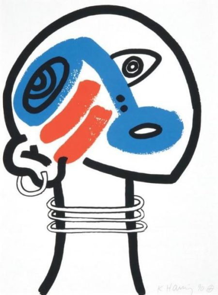 Keith Haring-Keith Haring - The story of red and blue-1990