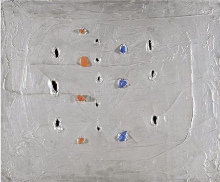 Lucio Fontana-Concetto spaziale, Venezia dargento-1961