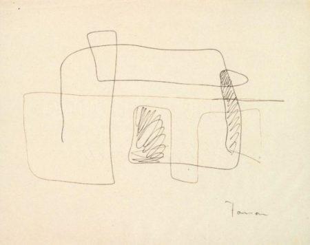 Lucio Fontana-Composizione-1936