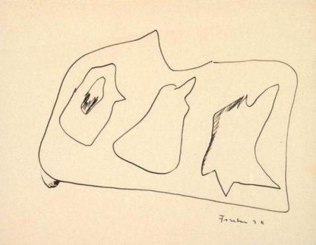 Lucio Fontana-Composizione-1934