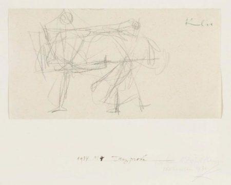 Paul Klee-Tanzprobe-1934
