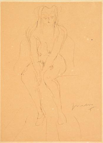 Lucio Fontana-Nudo-1946