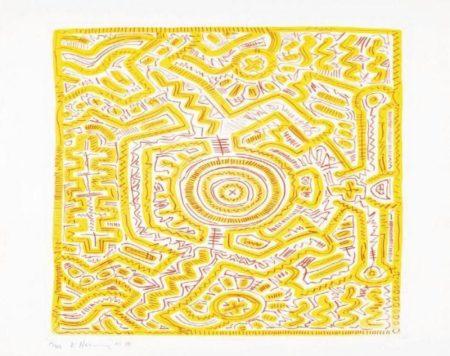 Keith Haring-Keith Haring - Senza titolo-1985