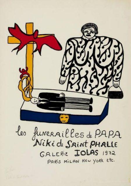 Niki de Saint Phalle-Les funerailles de Papa-1972