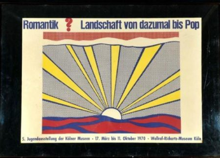 Roy Lichtenstein-Sunrise-