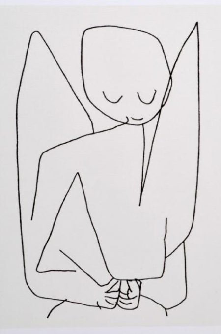 Paul Klee-Vergesslicher Engel-
