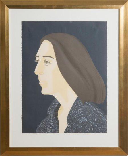 Alex Katz-Ada, From Ada Four Times (Maravell 117)-1980