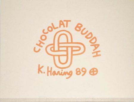 Keith Haring - Chocolate Buddah Series I-V-1989