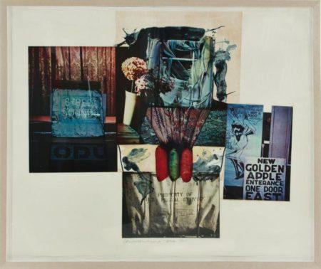 Robert Rauschenberg-Robert Rauschenberg - Street Sounds-1992