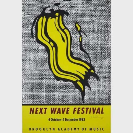 Roy Lichtenstein-Next Wave Festival (Brooklyn Academy of Music Poster)-1983