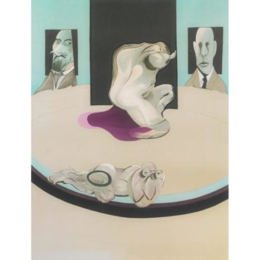 Francis Bacon-The Human Body (Study For The Metropolitan Museum Of Art)-1975