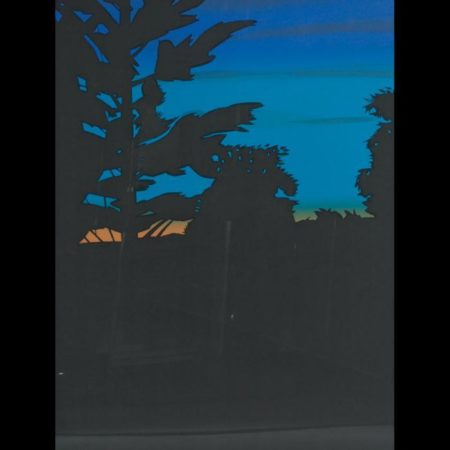 Alex Katz-Twilight Series / Twilight I, II, III (Maravell 111-113)-1978