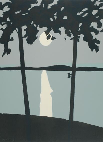 Alex Katz-Luna Park (Maravell 10)-1965