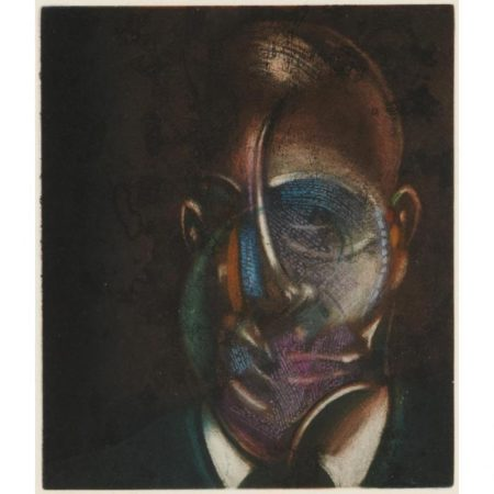 Francis Bacon-Portrait of Michel Leiris-1978