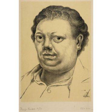 Diego Rivera-Self Portrait-1930