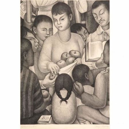 Diego Rivera-The Fruits of Labor-1932